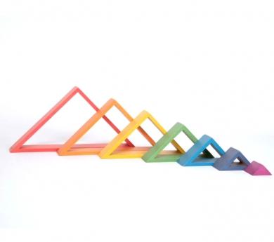7 marcs triangulars arc de sant martí