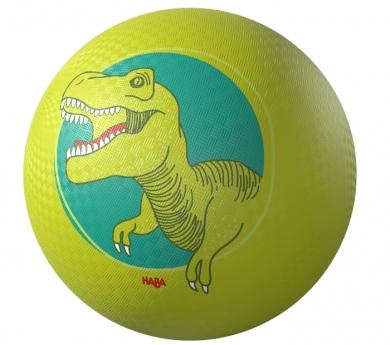 Pelota con dibujo de dinosaurio