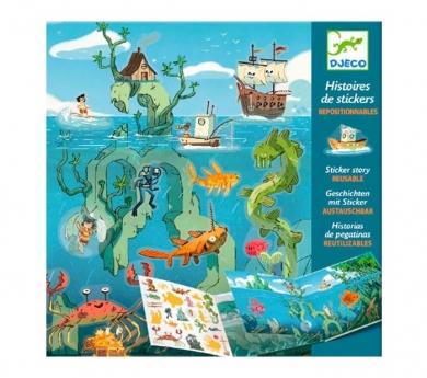 Adhesivos con paisaje Aventuras en el mar