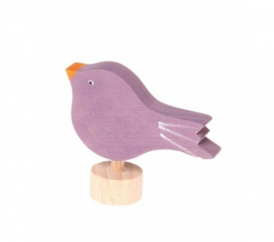 Grimm's. Figura celebraciones pájaro posado