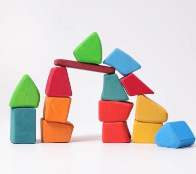 Grimm's. Blocs de construcció irregulars Waldorf