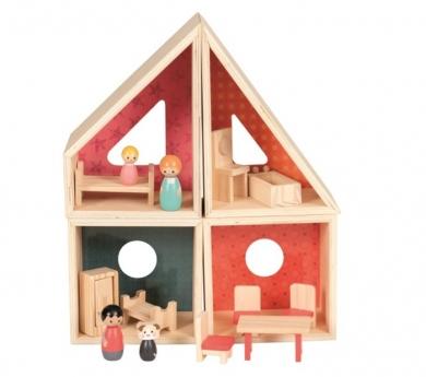 Casita modular de muñecas