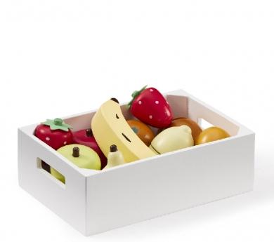 Caja con surtido de frutas Bistro