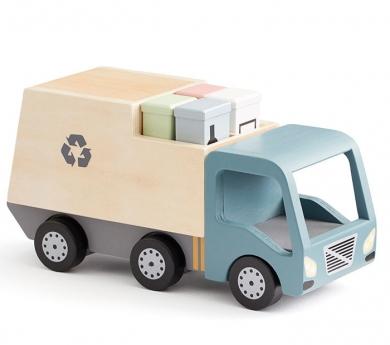 Camió de les escombraries de joguina Aiden