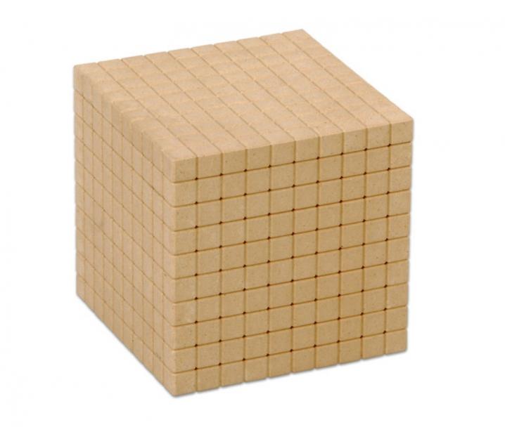 Cubo del 1000 con marcado ReWood