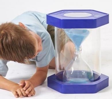 Reloj de arena gigante 5 minutos
