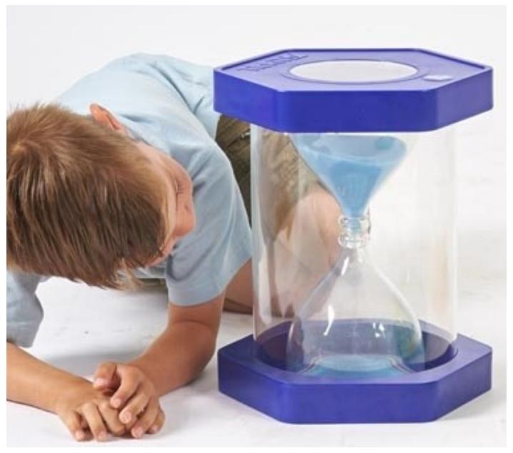Rellotge de sorra gegant 5 minuts
