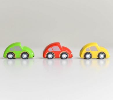 Conjunto de 3 coches pequeños