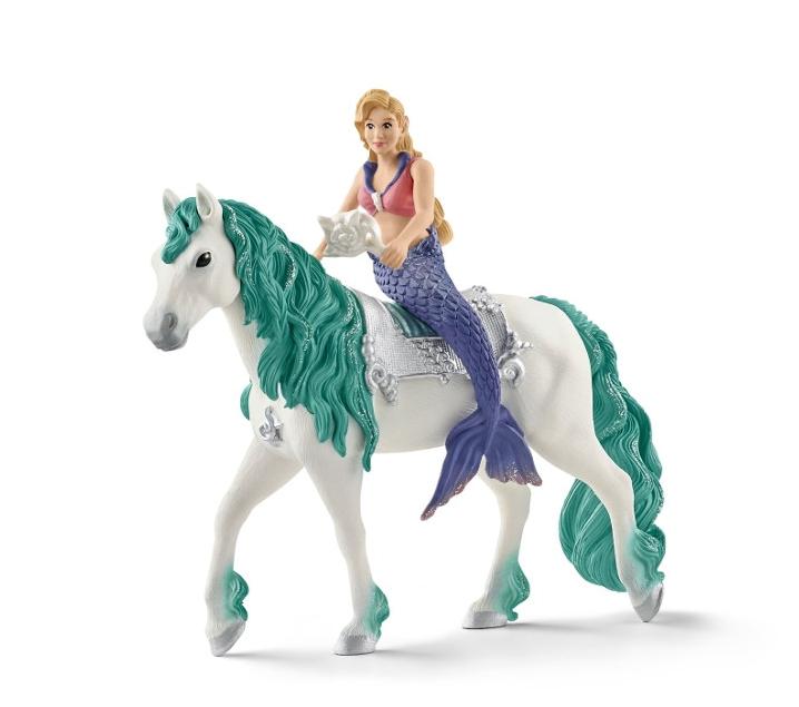 Sirena Gabrielle a cavall