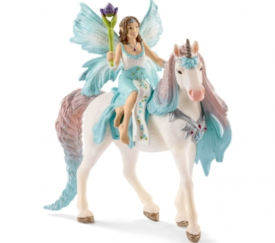 Hada Eyela con unicornio