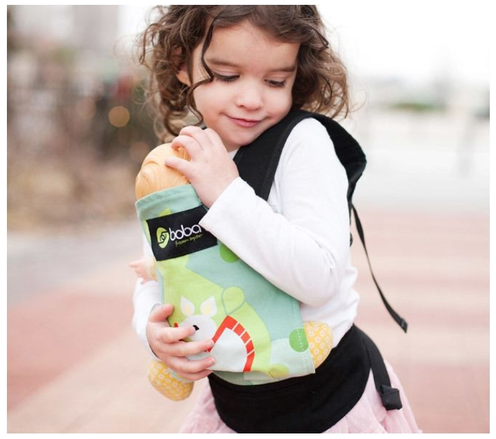 Mochila portabebés para muñecas Kangaroo