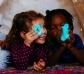 Plastilina Inteligente Aurora Boreal Fluorescente