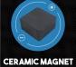 Plastilina Inteligente Magnética dorada + imán