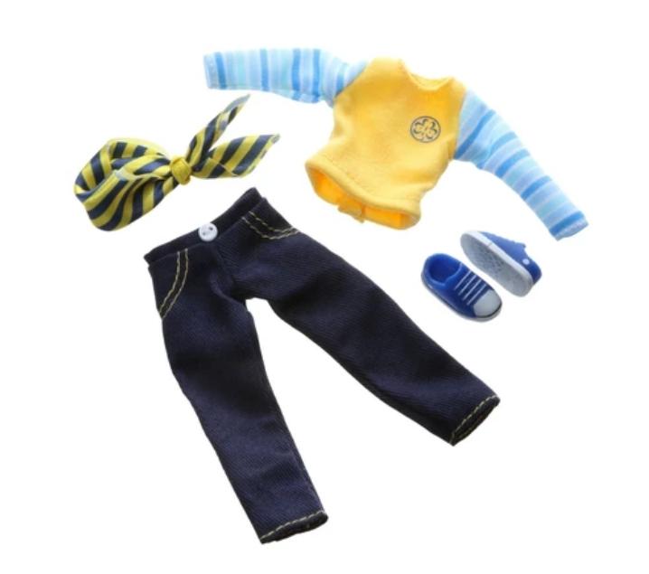 Conjunto ropa scout para Lotties