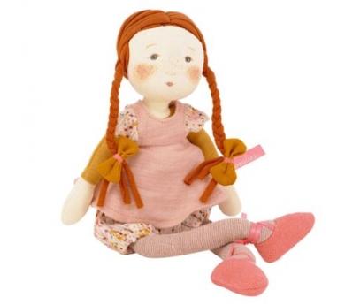 Muñeca de tela Jeanne