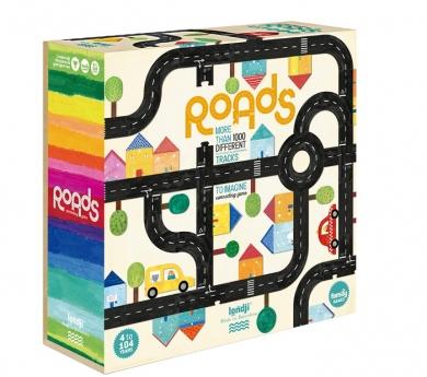 Carreteras. Joc cooperatiu, puzle i carreteres