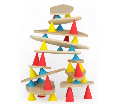 Joc de construcció Piks. 44 peces