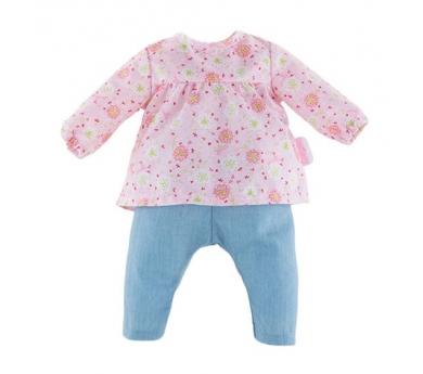 Conjunt de texans i jersei rosa flors