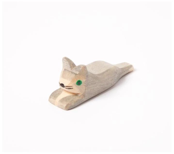 Figura de madera Ostheimer - Gato pequeño