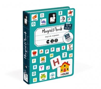 Magnetibook alfabeto en inglés