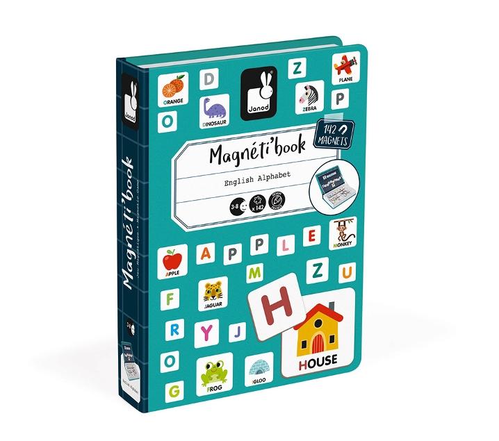 Magnetibook alfabet en anglès
