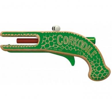 Cocodril llença taps