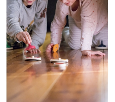 Curling para jugar en el suelo