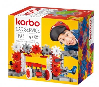Juego de engranajes CAR SERVICE 119 piezas