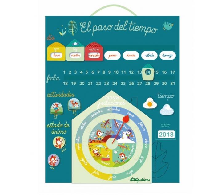 Calendario de tela