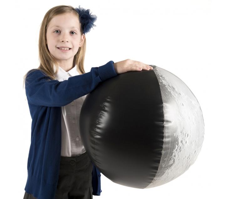 Modelo de eclipse inflable