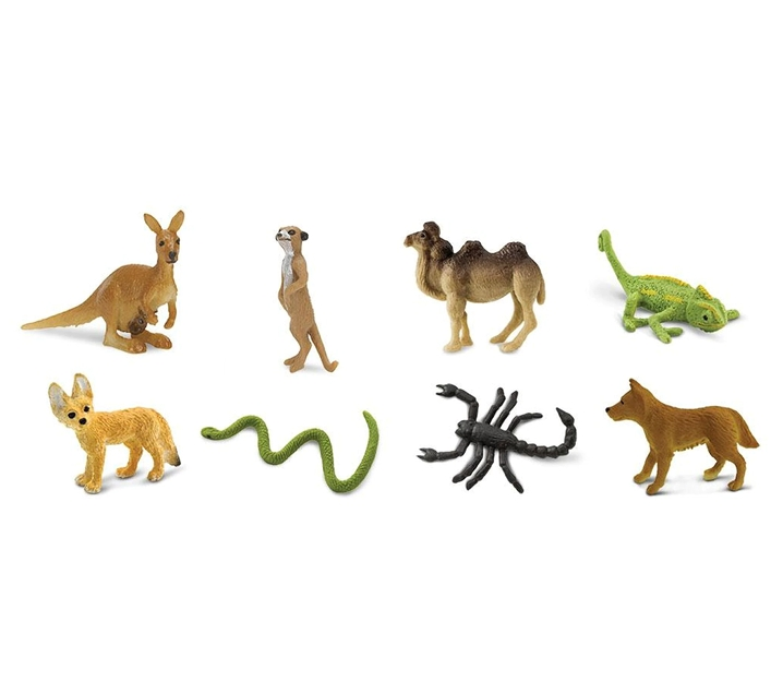 Mini pack de animales del desierto