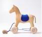 Cavall de fusta per arrossegar