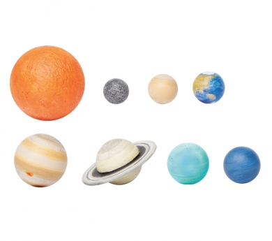 Figures en miniatura de sistema solar