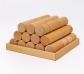 Grimm's. Cilindros de construcción en madera natural