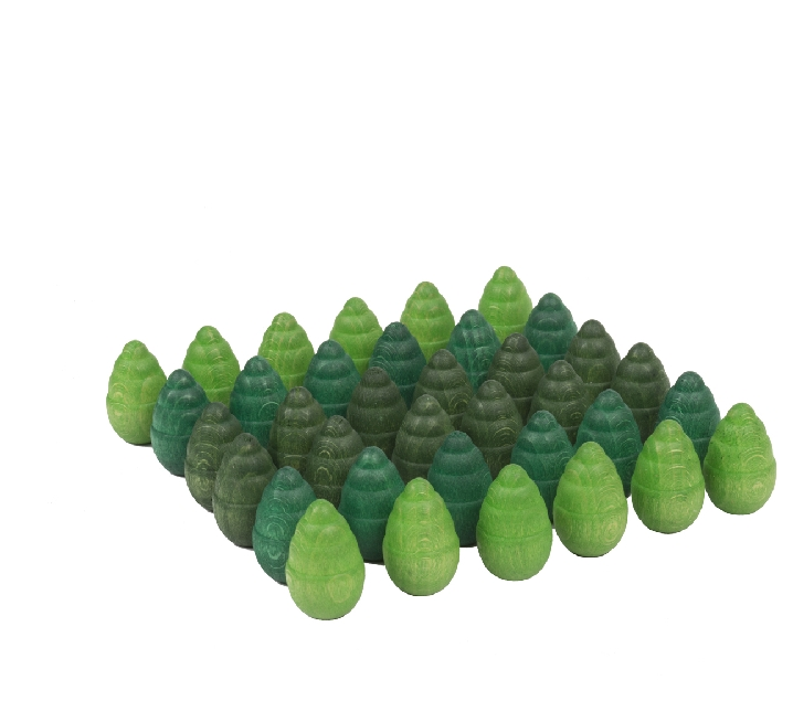 """36 piezas sueltas para mandala """"árbol"""""""