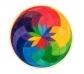 Mandala de Fusta Espiral Petita