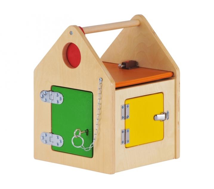 Casa con cerraduras