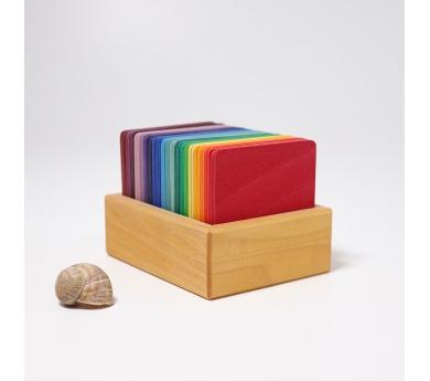 Tarjetas de madera para construcción