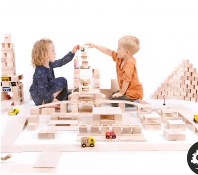 Blocs de construcció Just Blocks. 366 peces