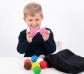 Juego de pelotas sensoriales con bolsa