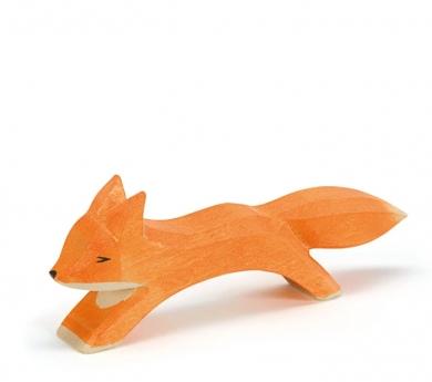 Figura de madera Ostheimer - Zorro grande corriendo