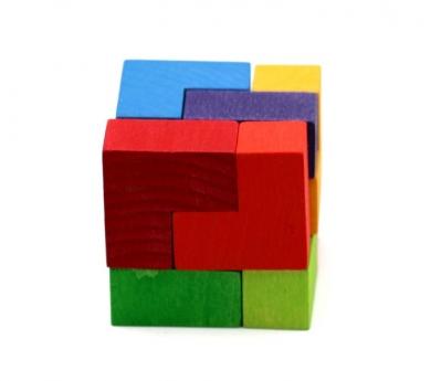 Puzzle de Madera Cubo Perfecto