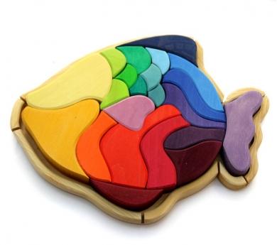 Puzzle de Madera Pez