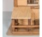 Granja rústica de madera