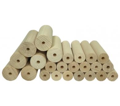 Listones de madera para el torno de la PLAYmat