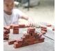 Juego de construcción con pequeños ladrillos