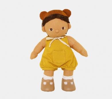 Peto amarillo para muñecos y muñecas Olliella