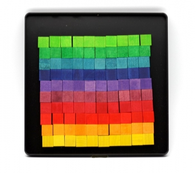 Puzle Magnètic Quadrats de Colors