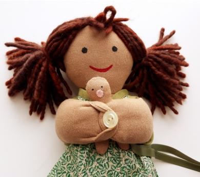Nina mama amb nadó, part vaginal. Pell bruna