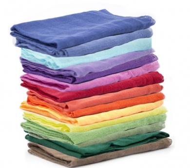 Pañuelos de juego de algodón orgánico 1 x 1 m.